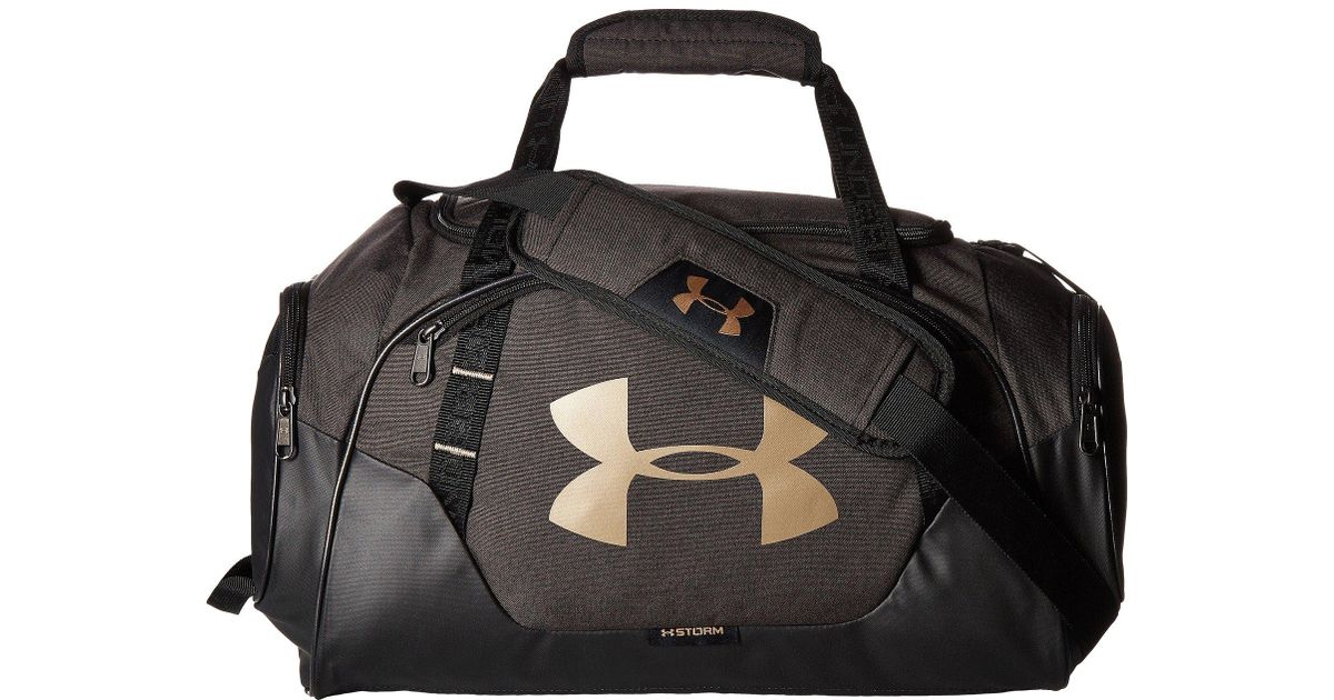 a280639ab1d Under Armour Ua Undeniable Duffel 3.0 Xs in Black for Men - Lyst