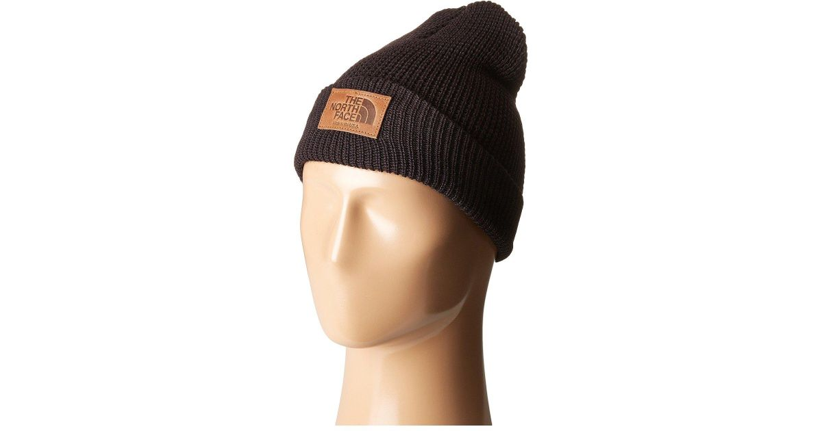 Lyst - The North Face Made In Usa Beanie in Black for Men ac5c7f1c50b