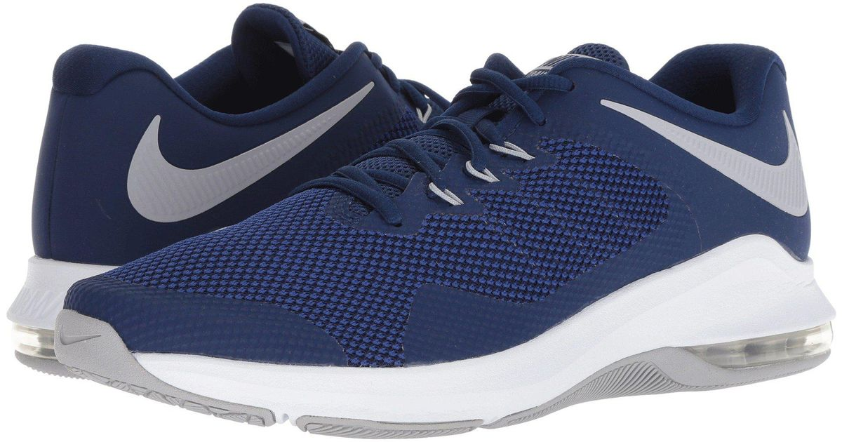 2007f0116d Nike Air Max Alpha Trainer (blue Force/wolf Grey) Cross Training Shoes in  Blue for Men - Save 35% - Lyst