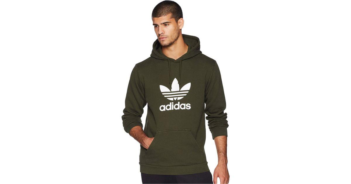 cheaper a540d dbe72 adidas Originals Trefoil Hoodie (clear Pink) Men s Sweatshirt in Gray for  Men - Lyst