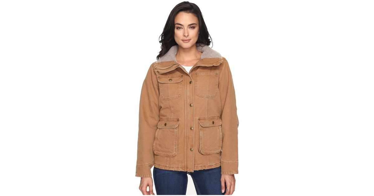 332a34460e70e Outerwear Carhartt Womens Weathered Duck Wesley Coat