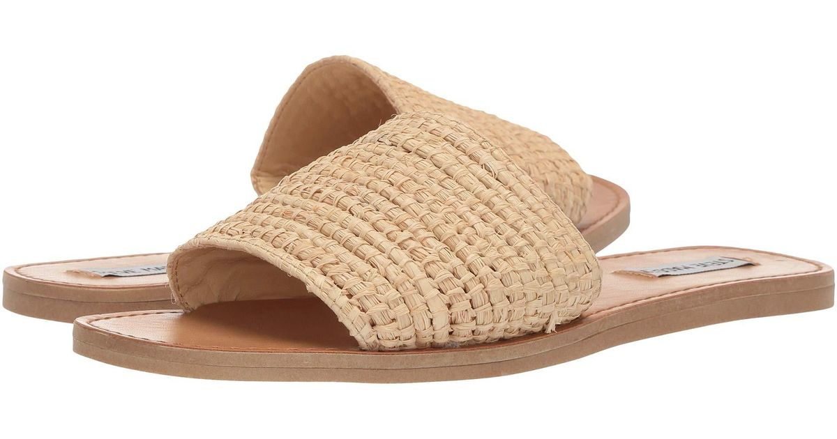26952f3145d5 Lyst - Steve Madden Tide (yellow) Women s Sandals in Natural