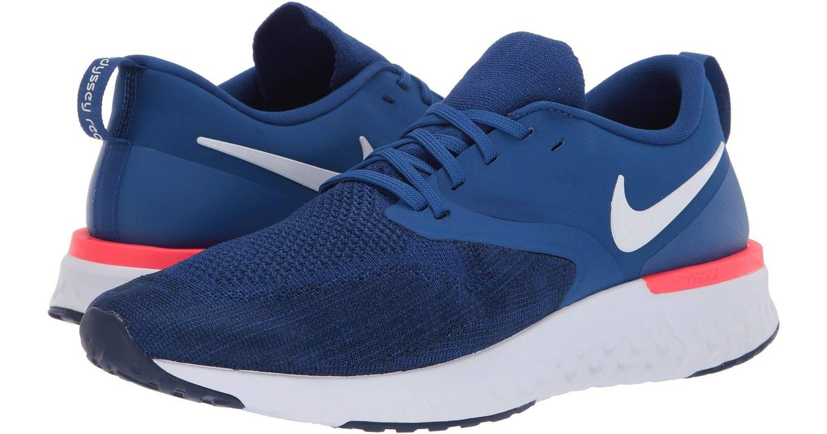buy online f890a 91c93 Nike Odyssey React Flyknit 2 (black white) Men s Running Shoes in Blue for  Men - Save 48% - Lyst