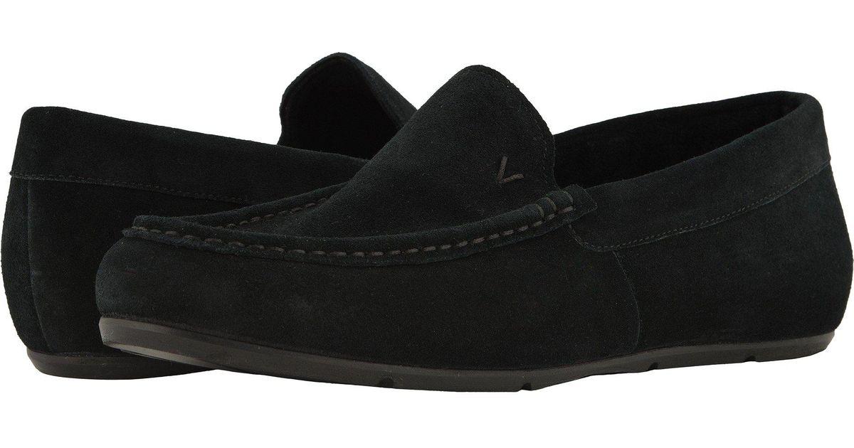ee151f270ef Lyst - Vionic Tompkin (black Leather) Men s Slip On Shoes in Black for Men