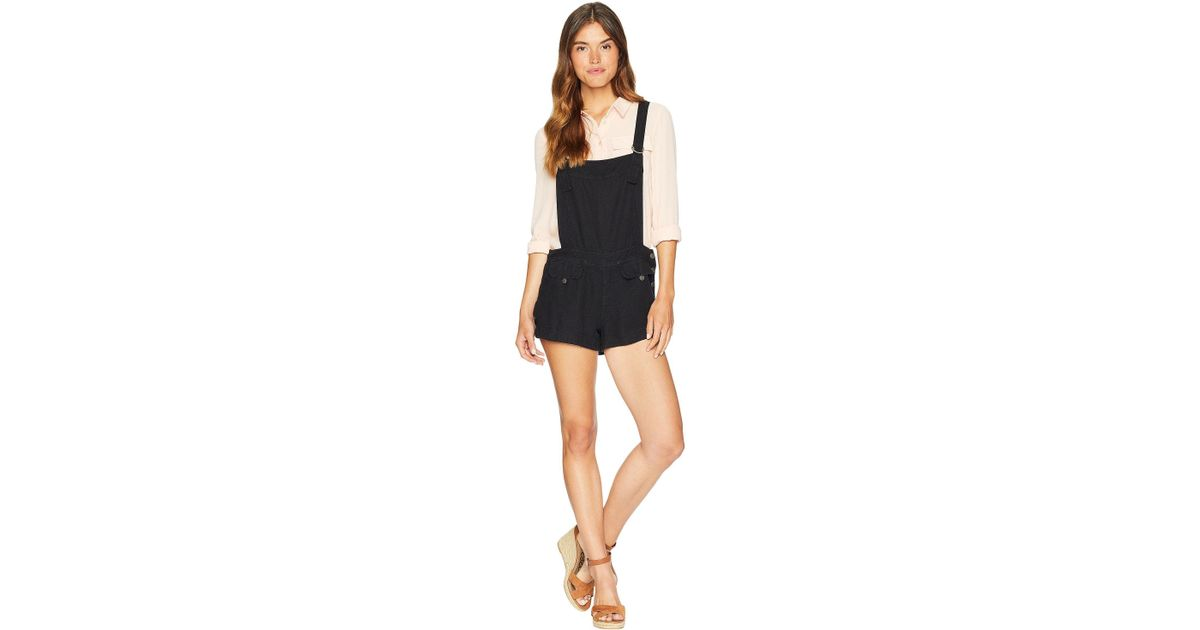 32a7cea9572 Lyst - Free People Expedition One-piece (black) Women s Jumpsuit   Rompers  One Piece in Black