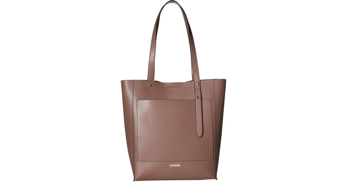 f98eed8eb Rebecca Minkoff Stella North/south Tote (honey) Tote Handbags in Brown -  Lyst