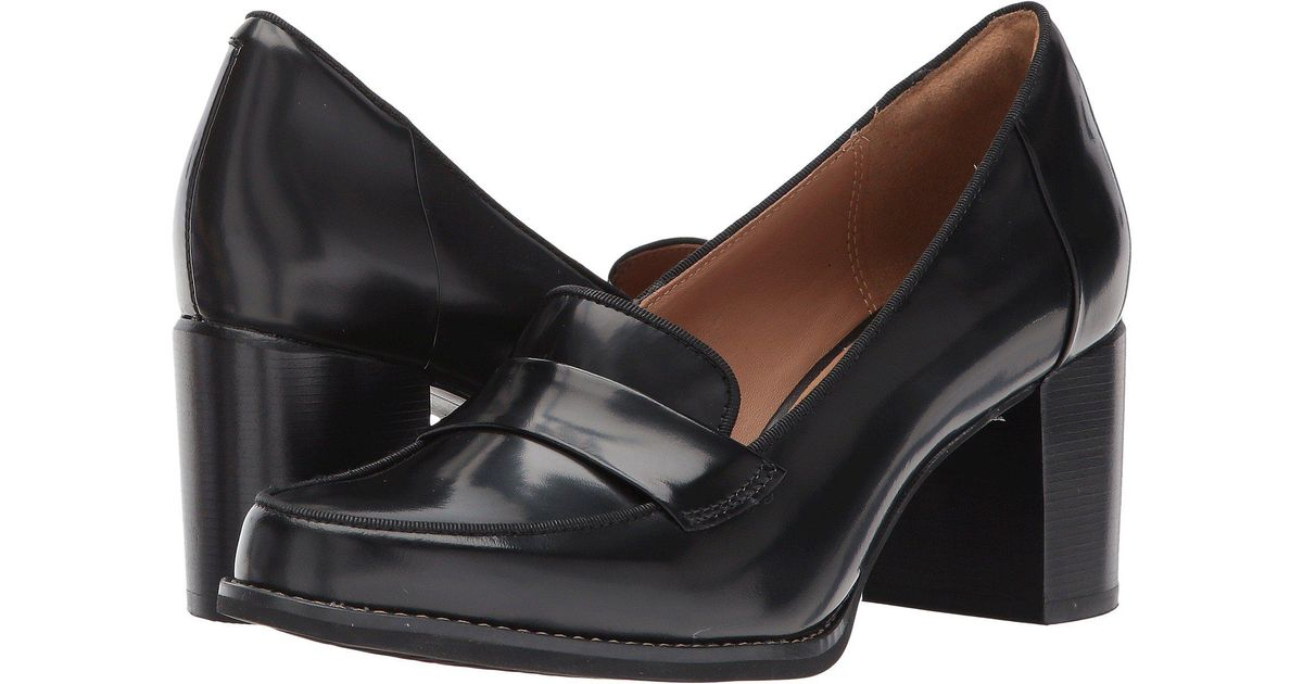 fdc1a1a4582 Lyst - Clarks Tarah Grace in Black