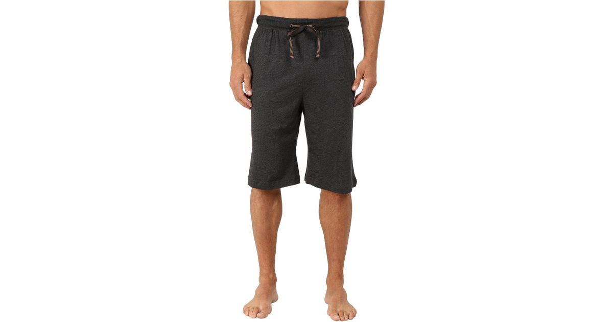 Lyst - Tommy Bahama Cotton Modal Knit Lounge Jams (black Heather) Men s  Pajama in Black for Men 232f54a38