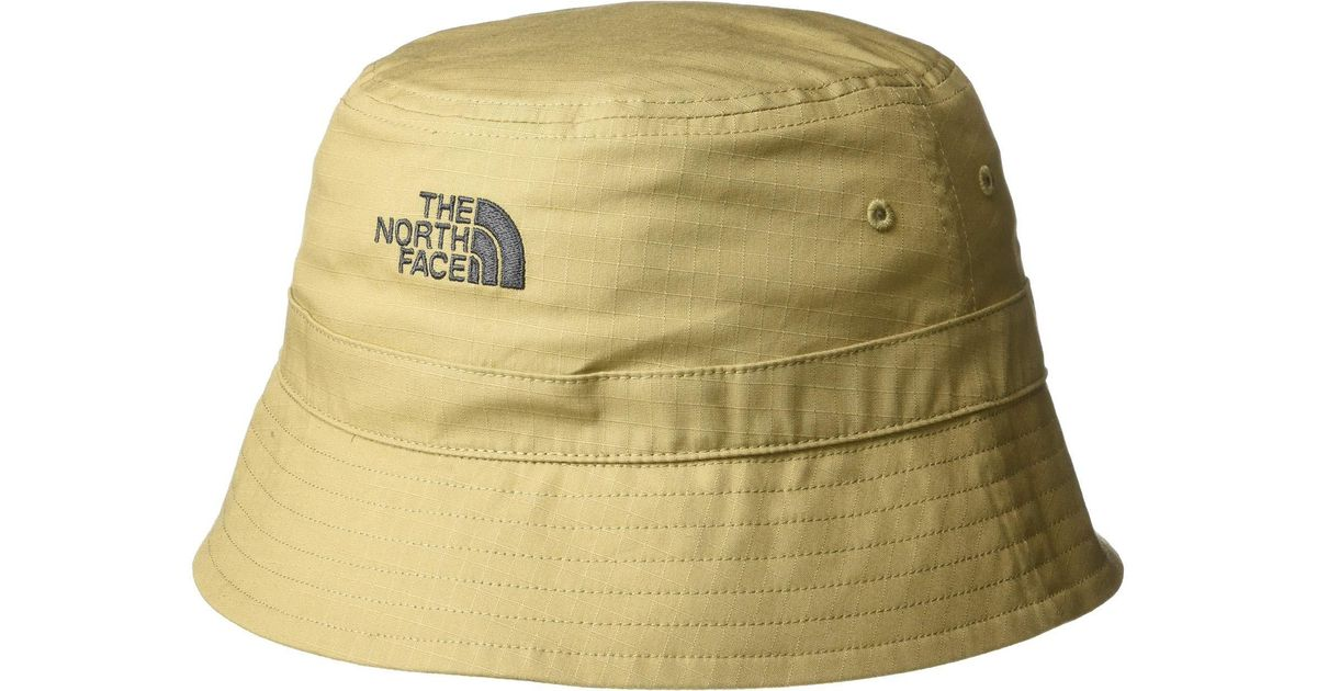 b8aad822 The North Face Cotton Bucket Hat (kelp Tan) Bucket Caps in Green for Men -  Lyst