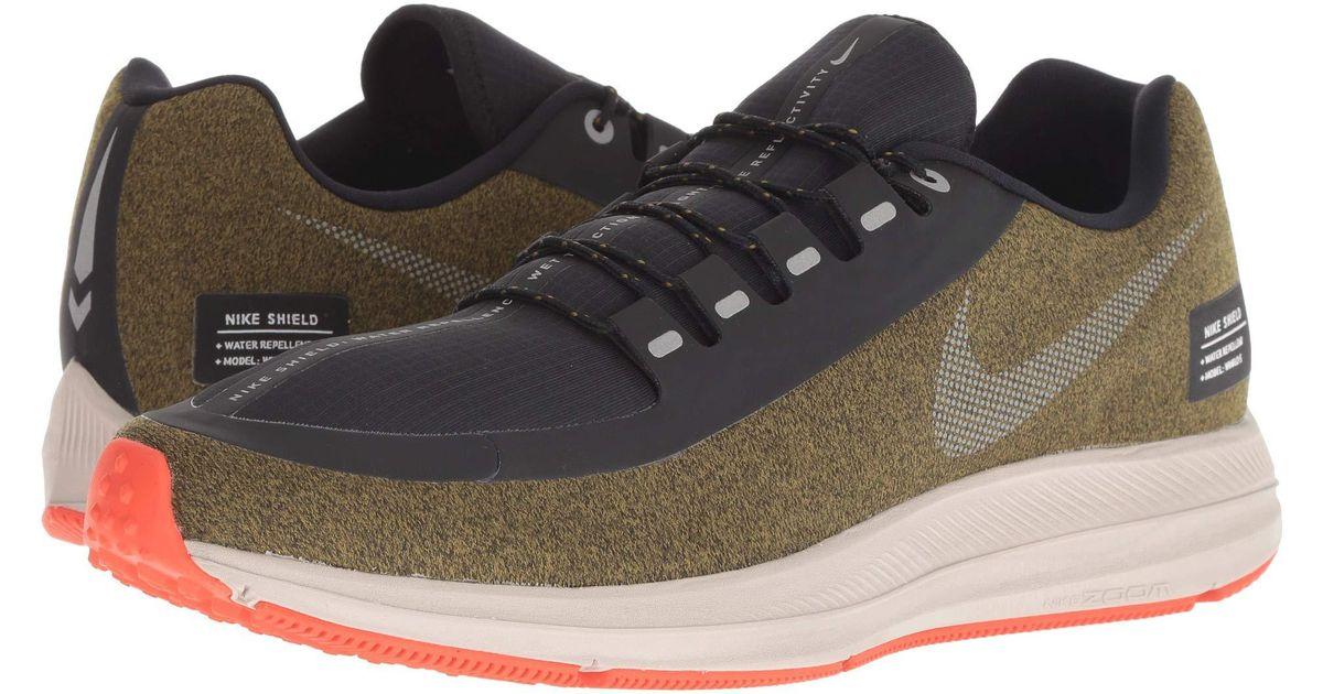 704fef95cec4 Lyst - Nike Air Zoom Winflo 5 Run Shield (black metallic Silver hyper Royal)  Men s Running Shoes in Metallic for Men