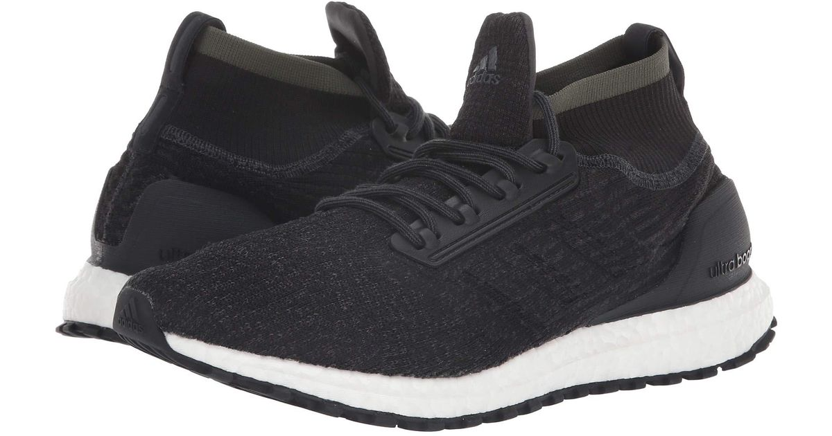 cff87f64dfa ... coupon code lyst adidas originals ultraboost all terrain raw desert  black white mens running shoes in