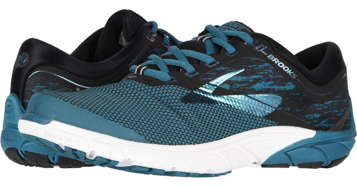 498664746e28f Lyst - Brooks Purecadence 7 (black purple multi) Women s Running Shoes in  Blue
