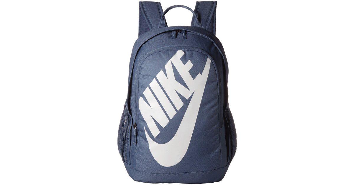 Lyst - Nike Hayward Futura 2.0 (black black white) Backpack Bags in Blue for  Men 45e0ea98de501