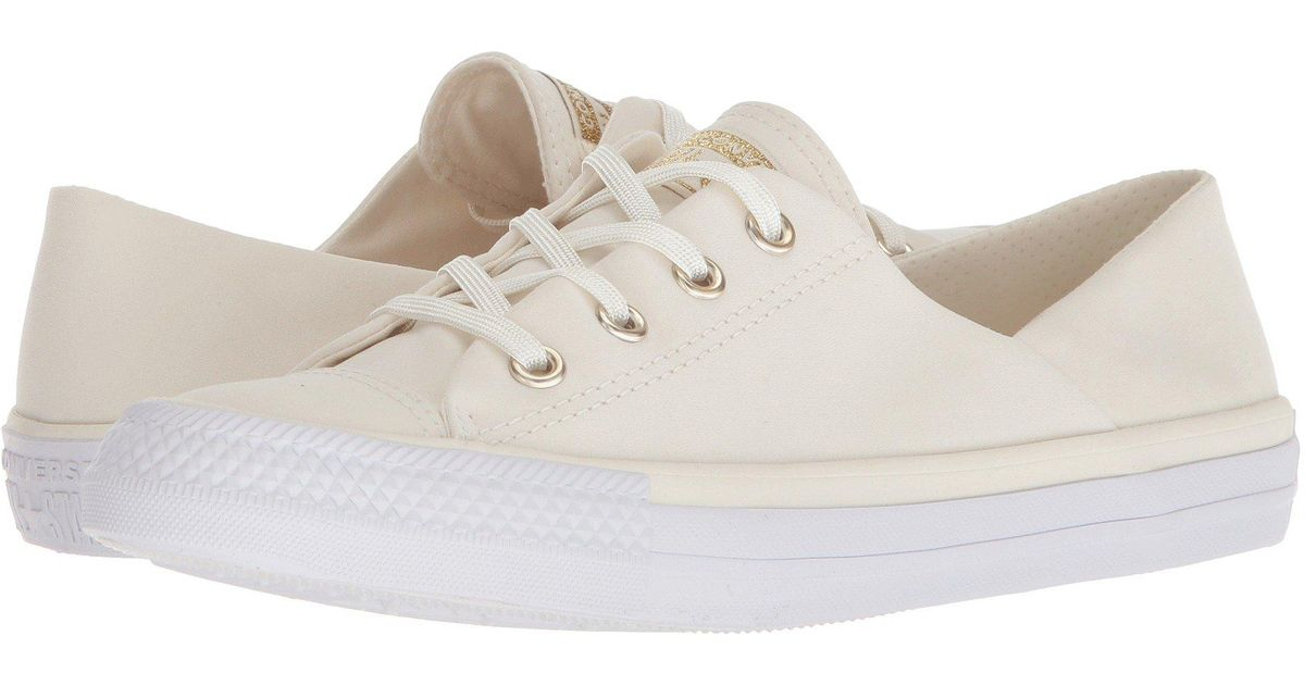 fd29f99132a Lyst - Converse Chuck Taylor® All Star® Coral Ox in White - Save 56%
