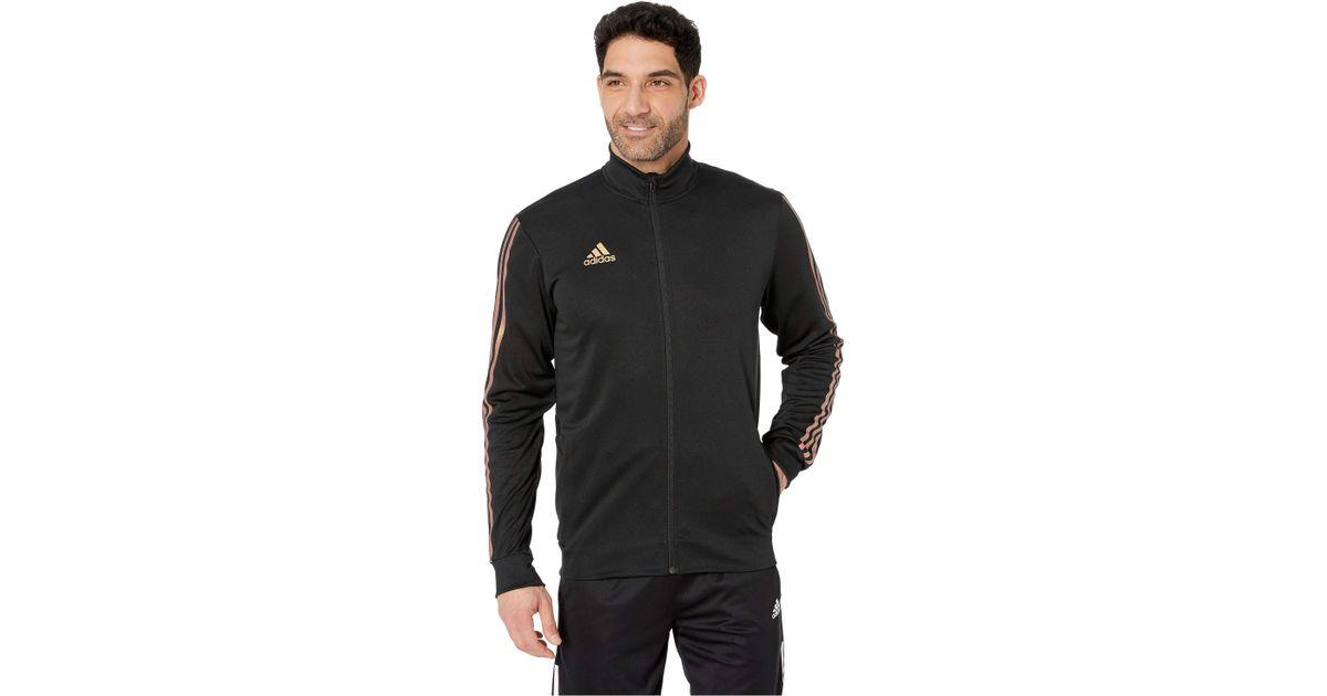 dc9e43bba adidas Afs Tiro Track Jacket (black/gold Metallic) Men's Coat in Black for  Men - Lyst