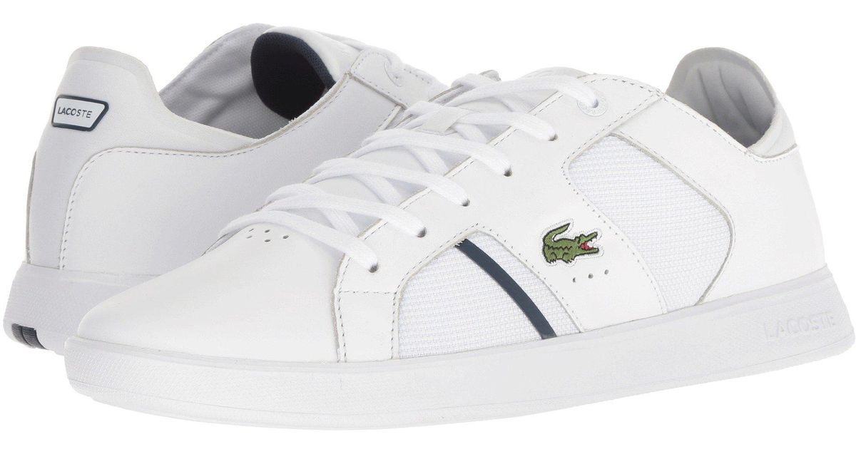 c7e77b6d0 Lyst - Lacoste Novas 318 2 (black grey) Men s Shoes in White for Men