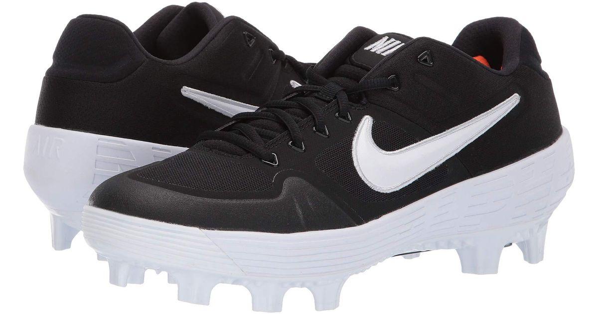 de94d812 Nike Alpha Huarache Elite 2 Low Mcs in Black for Men - Lyst