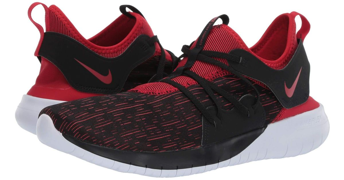 4c6309b9e5bc2 Lyst - Nike Flex Contact 3 (black university Red white) Men s Running Shoes  for Men