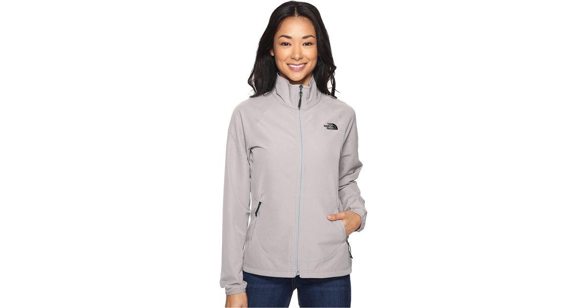 Lyst - The North Face Nimble Jacket (galaxy Purple) Women s Coat in Metallic fc970fe52