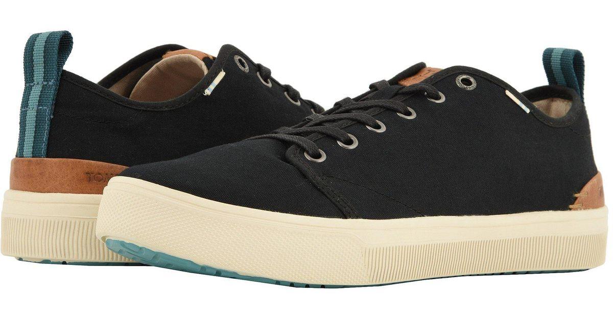 6a29c87c900 Lyst - TOMS Trvl Lite Low (navy Melange Knit) Men s Lace Up Casual Shoes in  Black for Men - Save 30%