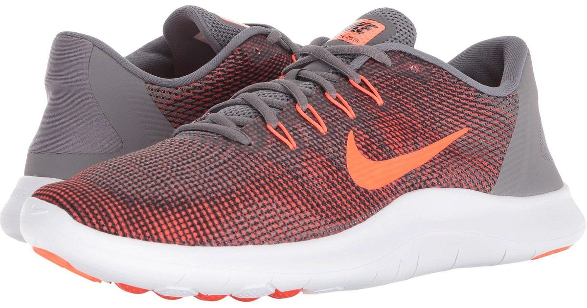 778e0d7c83bf6 Lyst - Nike Flex Rn 2018 (cool Grey white cool Grey) Men s Running Shoes in  Red for Men