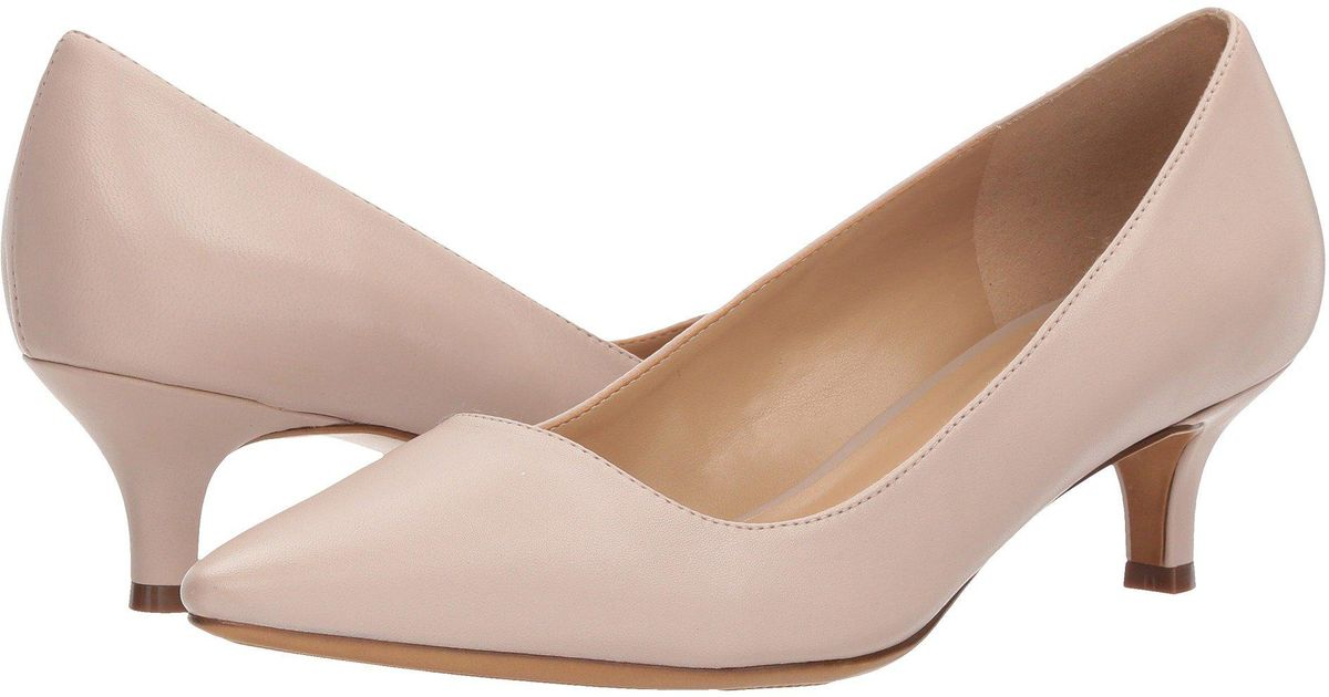 d9952564e1 Naturalizer Pippa (soft Marble Leather) Women's 1-2 Inch Heel Shoes - Lyst
