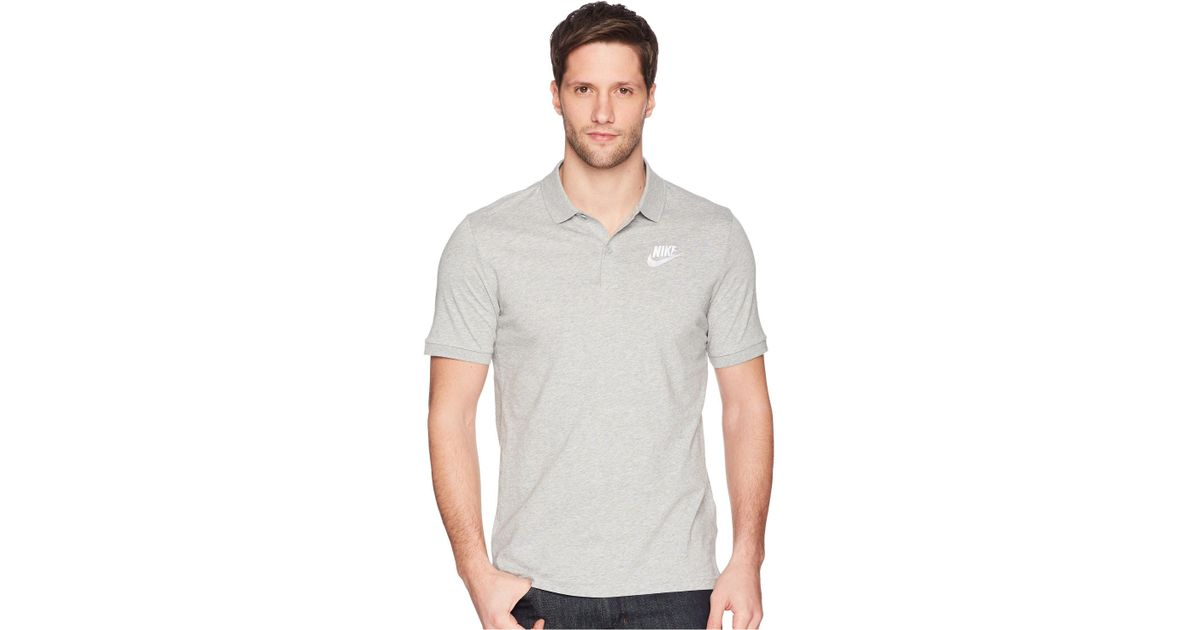 f60a8ad3 Nike Nsw Polo Jersey Matchup in Gray for Men - Lyst