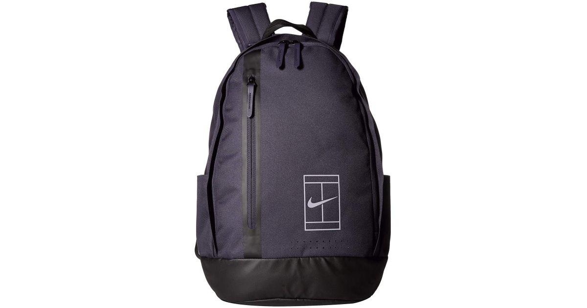 Lyst - Nike Court Advantage Tennis Backpack (black black anthracite) Backpack  Bags in Black for Men d46af96085bc8