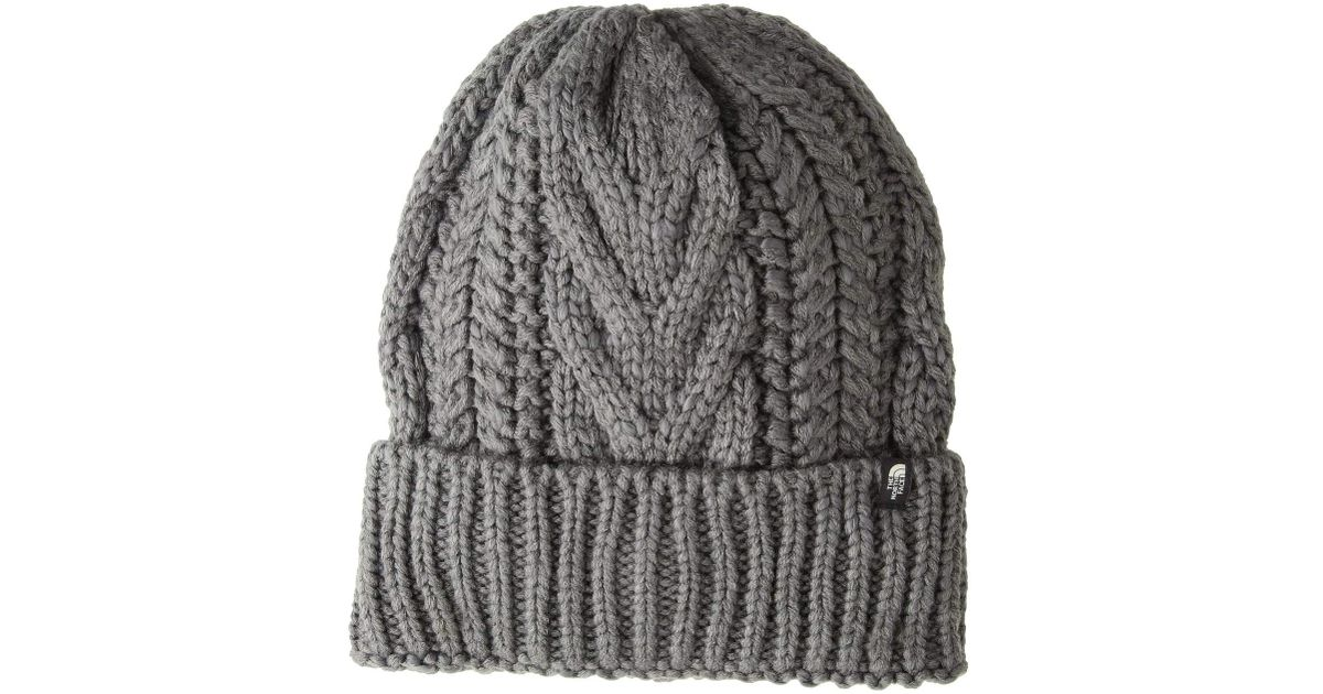 81ddb0f0a The North Face - Gray Cable Minna Beanie - Lyst