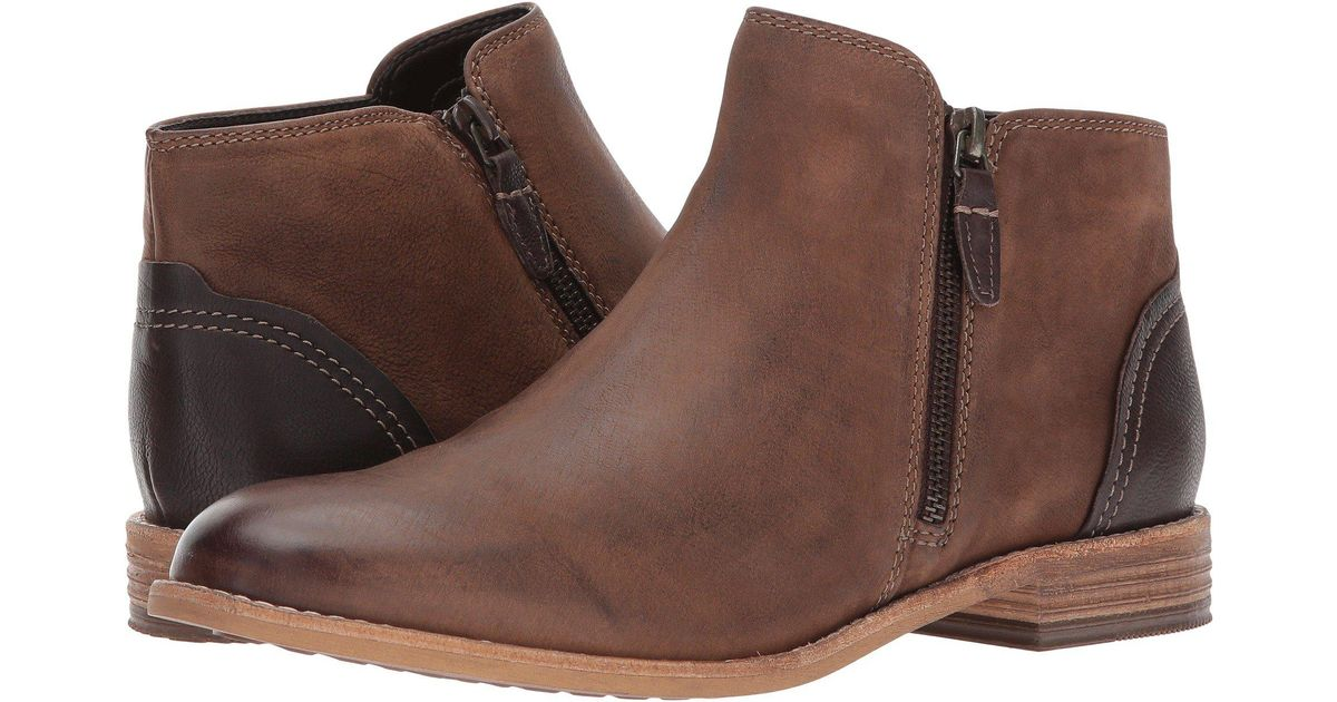 98d83a2770ce Lyst - Clarks Maypearl Juno (brown Leather) Women s Boots in Brown - Save 9%