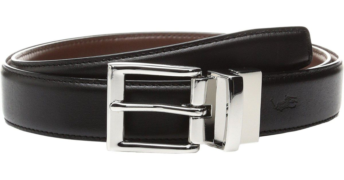 d6995371220e Lyst - Polo Ralph Lauren Saddle Leather-1 1 8 Reversible (brown cognac)  Men s Belts in Black for Men