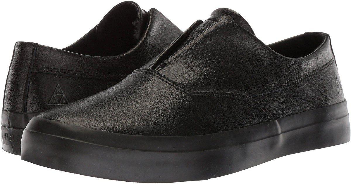 d21b7a29b1 Lyst - Huf Dylan Slip-on (black 2) Men s Skate Shoes in Black for Men