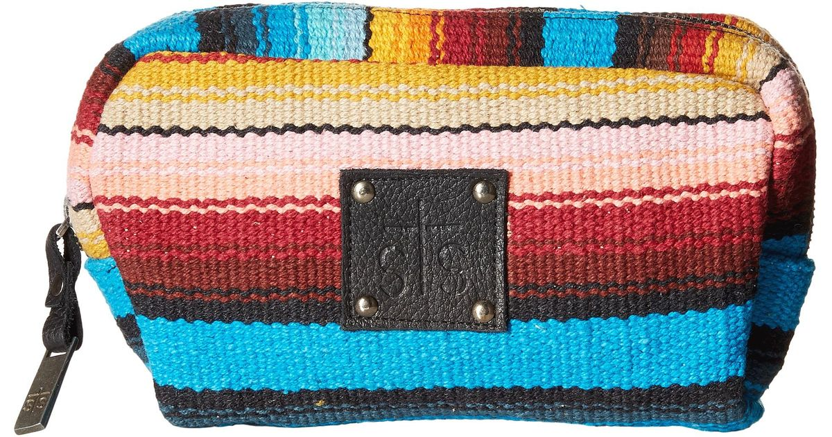 0bf02ecfd560 STS Ranchwear - Multicolor The Bebe Serape Cosmetic Bag - Lyst