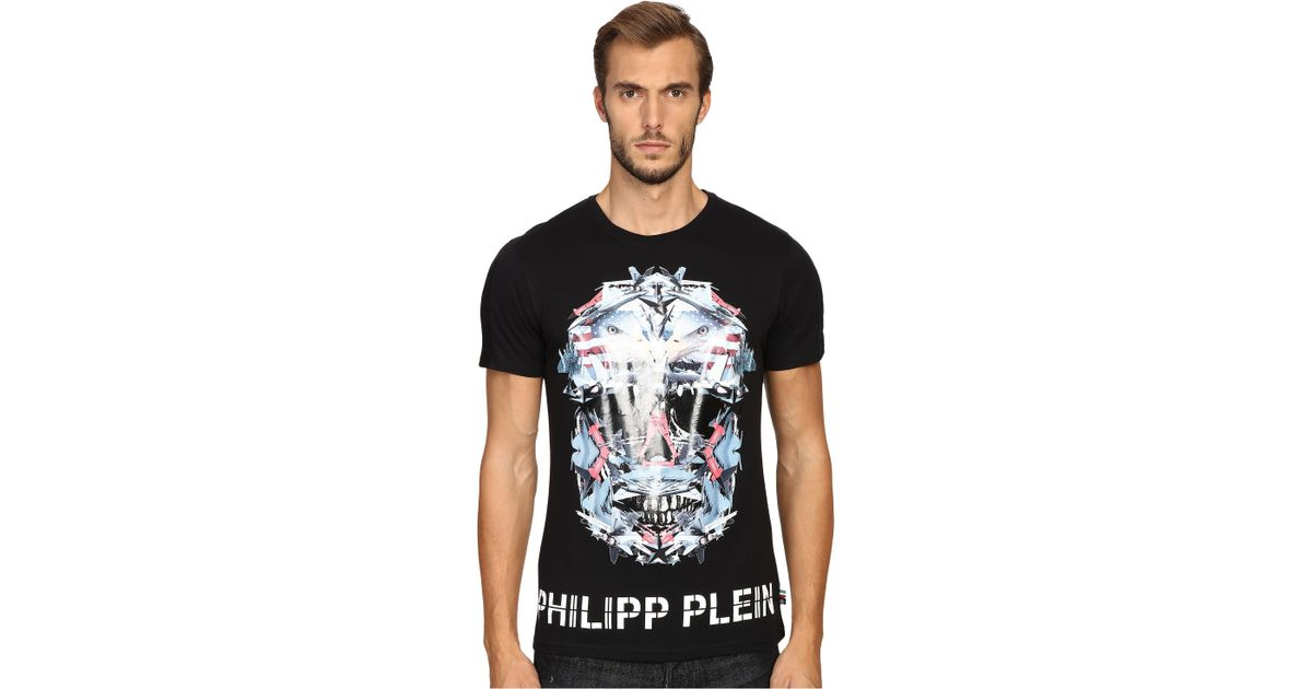 Philipp Plein Cloud Lake T Shirt In Black For Men Save