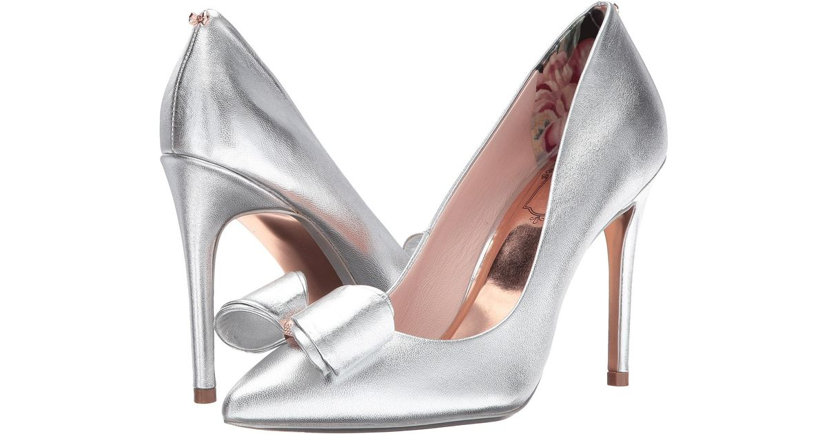 79ef48dcc3b Lyst - Ted Baker Azeline Pump in Metallic - Save 43%