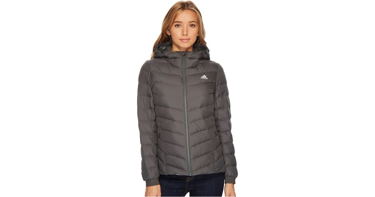 856de42e01966 adidas Originals Climawarm® Nuvic Jacket in Gray - Lyst
