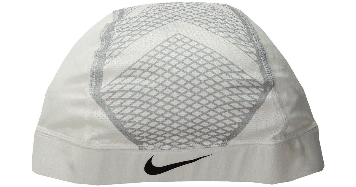Lyst - Nike Pro Hypercool Vapor Skull Cap 4.0 (white wolf Grey black) Caps  in Gray for Men fca5f9b6937