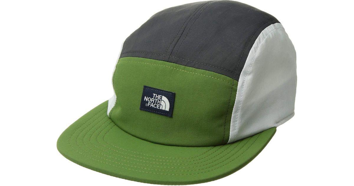 3a2fb9af191 Lyst - The North Face Class V Tnftm Five Panel Hat (garden Green asphalt  Grey Multi) Caps in Gray for Men
