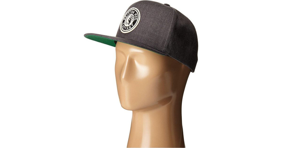 88f71a46c84a9 Brixton Rival Snapback in Gray for Men - Lyst