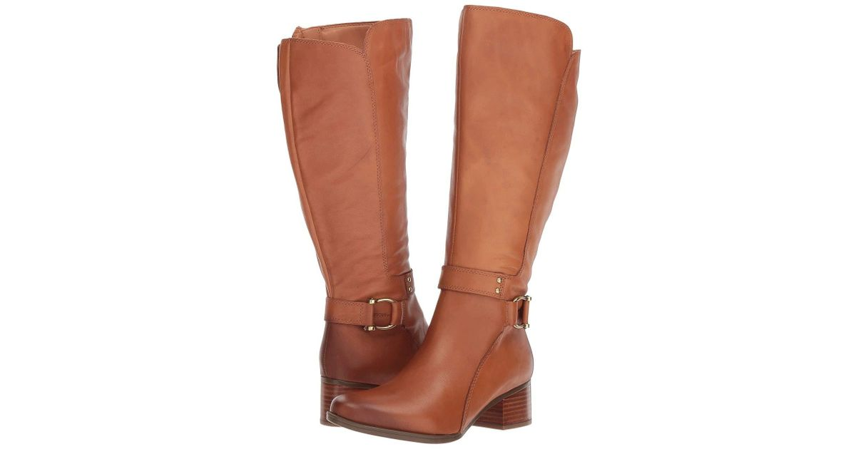 730128f863b Naturalizer Dane (light Maple Leather) Boots in Brown - Save 36% - Lyst