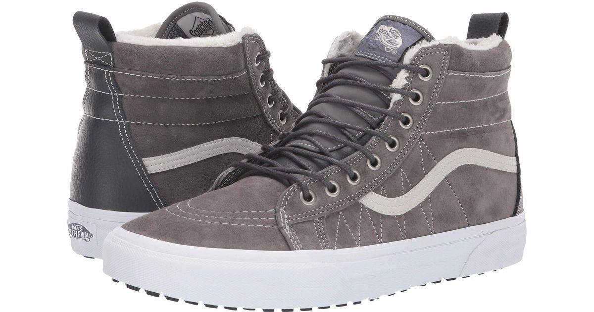 9a96619a6c14af Lyst - Vans Sk8-hi Mte ((mte) Cornstalk marshmallow) Skate Shoes in Gray  for Men