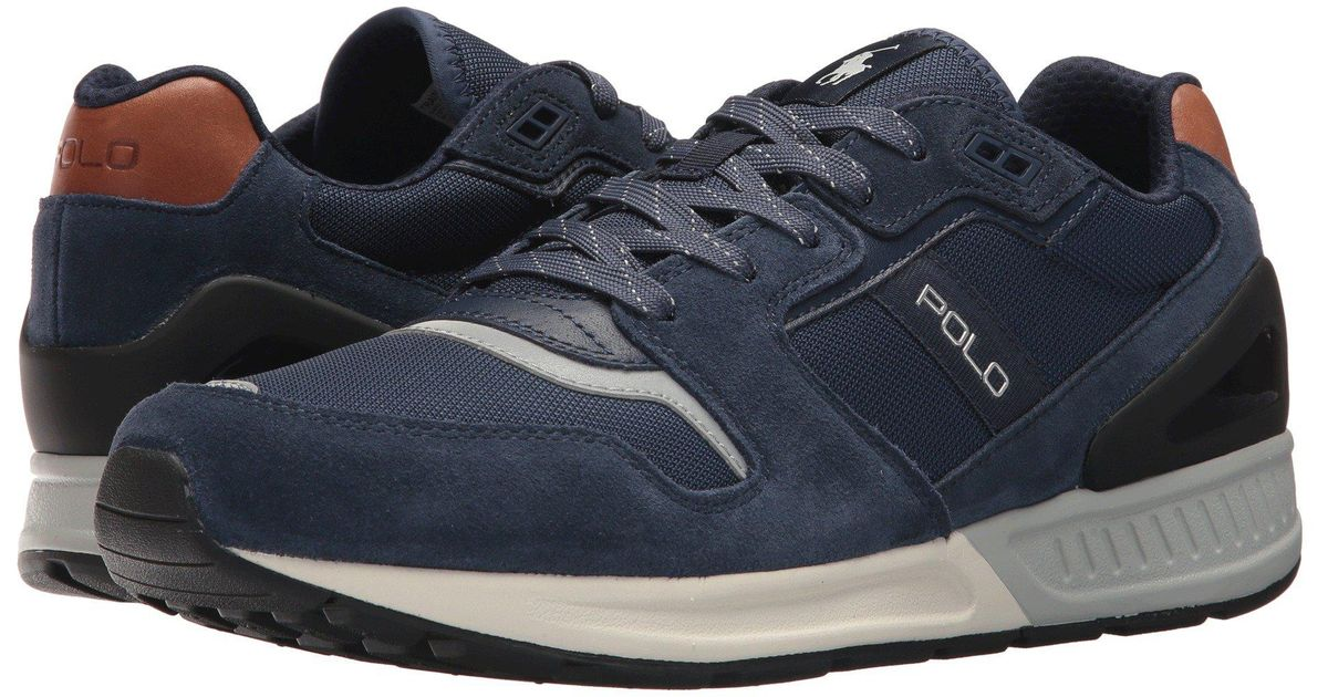 c0a80dd740a5 Lyst - Polo Ralph Lauren Train 100 (black) Men s Shoes in Blue for Men