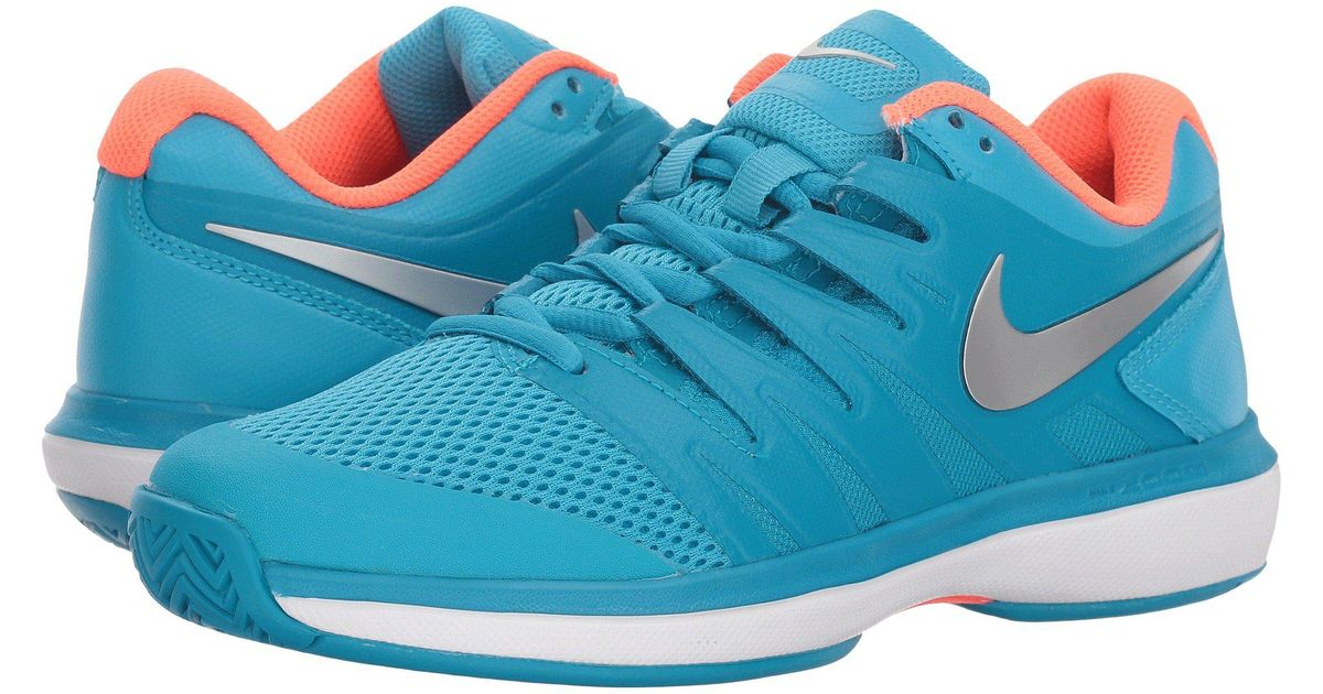 d15548eb3af9f Silverneo Nike Prestige Zoom Women s light Men Furymetallic Lyst Shoes  Turquoise Blue In Air Tennis For 0wRpUd