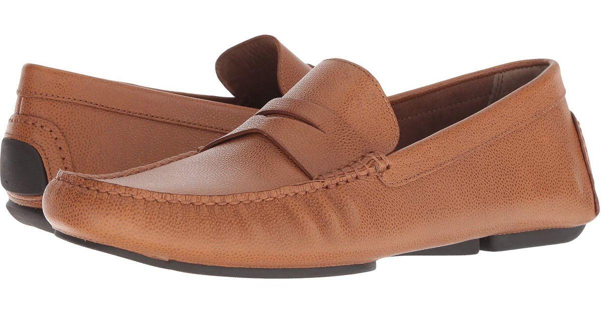 fd69ef9134b Lyst - Donald J Pliner Vinco (saddle) Men s Slip On Shoes in Brown for Men