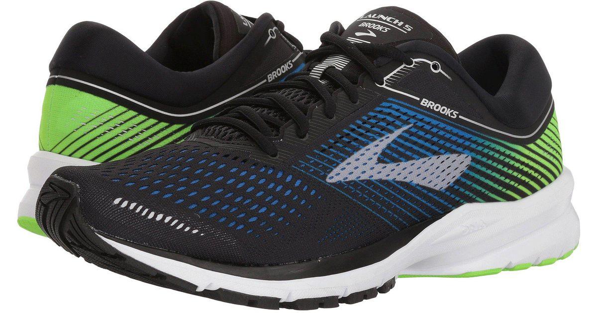 23a65a803d8 Lyst - Brooks Launch 5 (blue black orange) Men s Running Shoes for Men