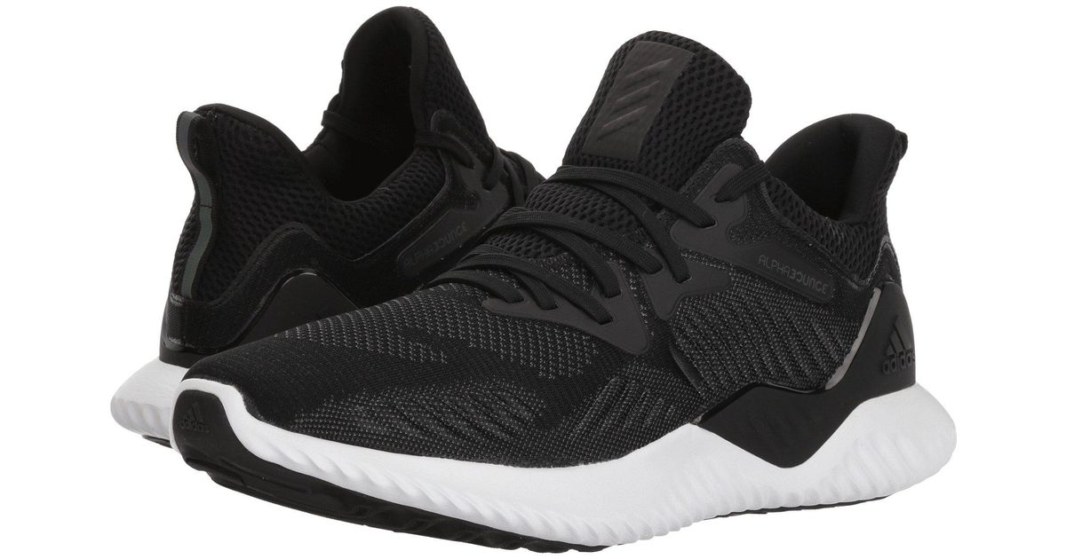 8fc40f1f83340 Lyst - adidas Originals Alphabounce Beyond (raw Grey orchid Tint legend  Ink) Women s Running Shoes in Black