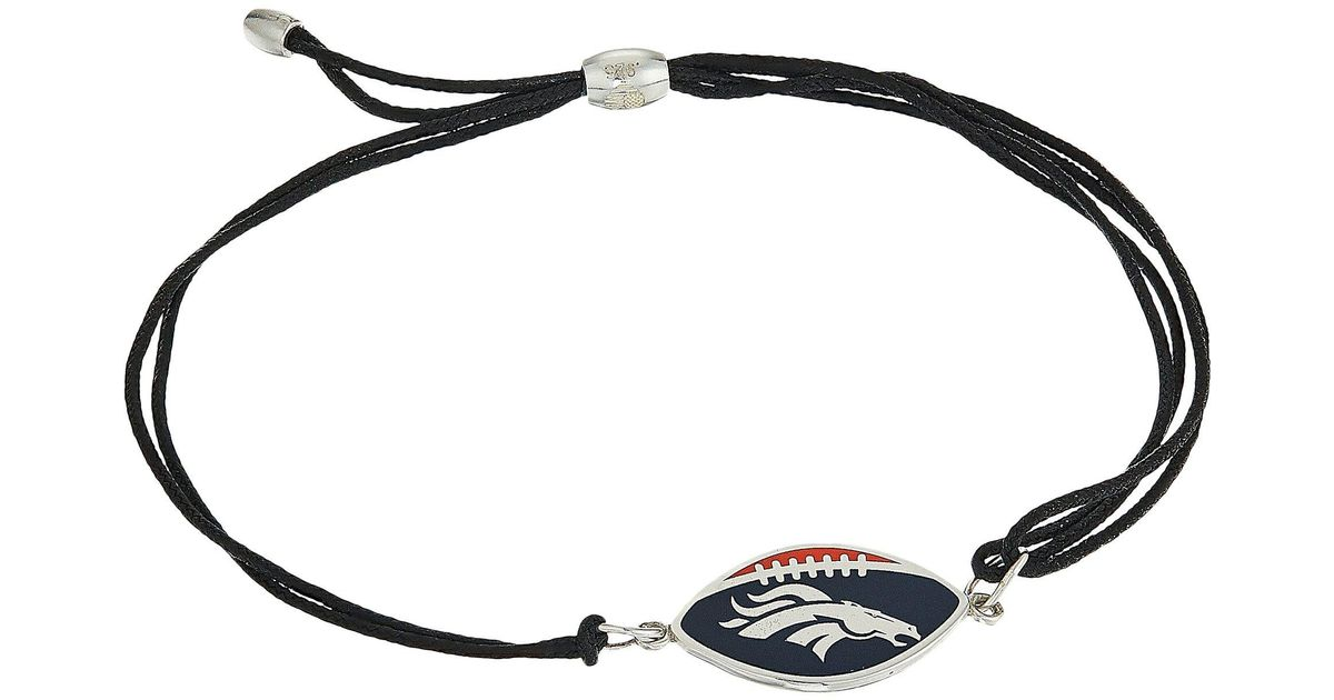 Lyst Alex And Ani Kindred Cord Denver Broncos Bracelet In Metallic Save 21 05263157894737