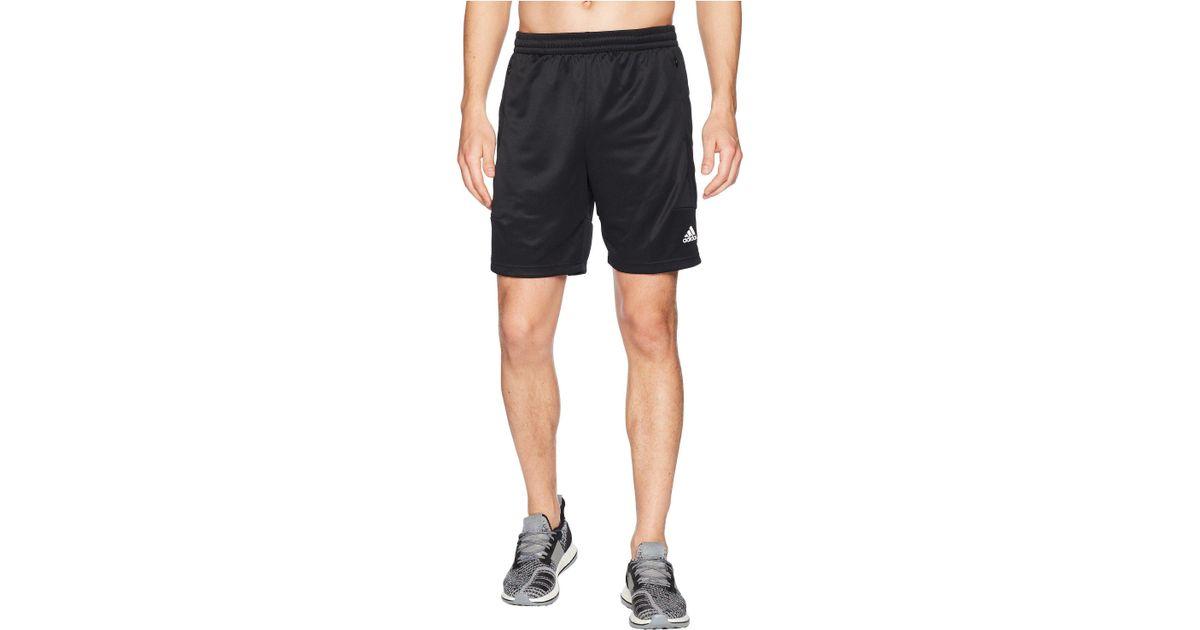 adf2ec6b8 adidas Team Issue Lite Shorts in Black for Men - Lyst