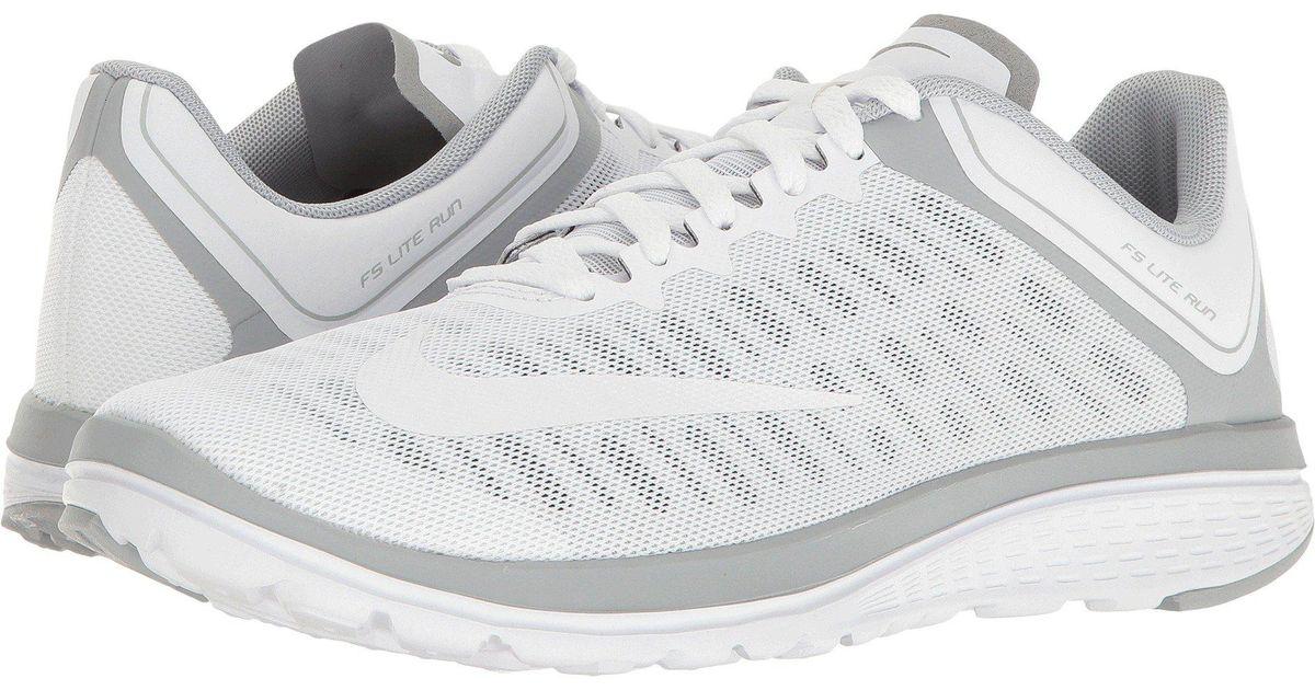 huge selection of 00bbf 024fd Nike - White Fs Lite Run 4 - Lyst