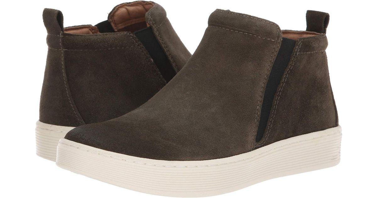 c4bab801bc0b4 Lyst - Söfft Britton Ii Waterproof (army Green Cow Suede) Women's Pull-on  Boots in Gray